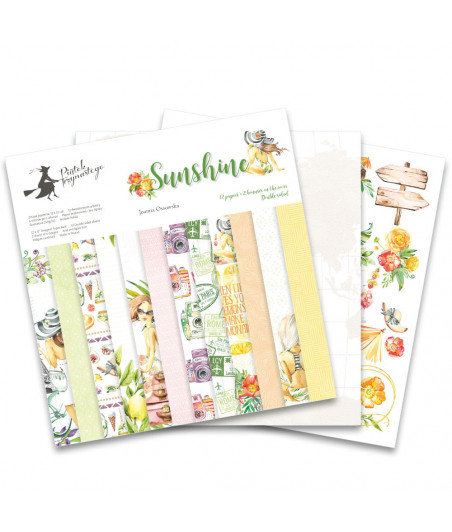 PIATEK - Sunshine - 12x12  Pad Collection Kit