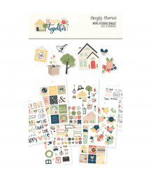 SIMPLE STORIES - So Happy Together - Mini Sticker Table