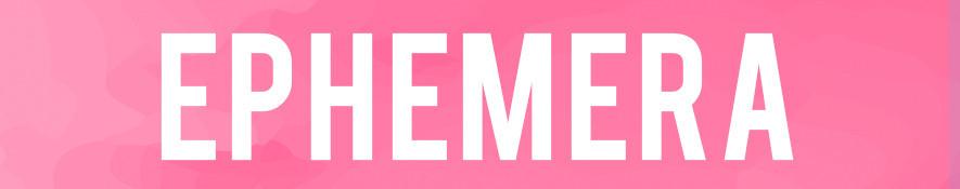 Ephemera - Die-Cuts